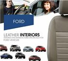 2015 2016 2017 Ford F150 XLT Super Crew Cab Leather Seat Covers Factory Match
