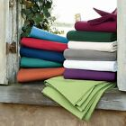 All Solid Colors 3 pc Fitted Sheet Set 1000 TC 100%Egyptian Cotton Full-XL Size