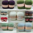 Fashion Women's Luxury Angola Mohair Wool Yarn Better Price Skein Lot 6 colors