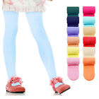 KIDS FASHION Girls Plain Soft MICROFIBRE Opaque TIGHTS 60 Denier Colours Sizes
