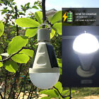 E27 Indoor Outdoor LED Intelligent Lamp Solar Rechargeable Emergency Light Bulb