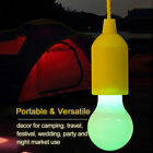 Portable LED Pull Cord light Bulb Outdoor Garden Party Hanging LED Light Lamp AU