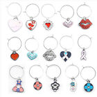 Mix Style Baby Animal Cartoon Wine Glass Charms Drink Markers Gift Charm Rings