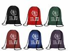 School PE Bag Drawstring Backpack Waterproof Gym Swim School  Sports Bag