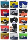 NFL,MLB,NBA,NHL Team Mens Printed logo Leather Bi-fold Wallet on eBay