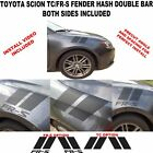 Fender Hash Double Hash vinyl graphics racing for Toyota Scion tC FS-R 2005-2016 on eBay