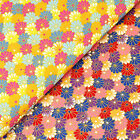 Japanese Cotton Fabric per FQ Oriental Flower Field Asian Retro Print Dress VJ32