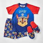 NEW Paw Patrol Chase Short Sleeve Pyjama Set With Scuffs Kids