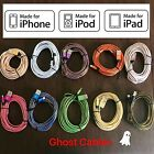 Certified Apple Lightning Cable Braided 6ft 10ft Usb Data Mfi Iphone 5s 6 Plus 7