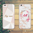 Kyпить MARBLE MONOGRAM INITIAL FLORAL PERSONAL GOLD PHONE CASE FOR IPHONE AND SAMSUNG на еВаy.соm
