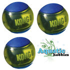BLUE Kong Squeezz Action Ball MultiTextured Fetch Toy for Dog Puppy Choose Size