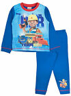 Bob The Builder Pyjamas Full Length Kids Character Pjs Toddlers Scoop Lofty Size