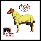 LOVE MY HORSE 5'3 - 6'6 1200D Waterproof Summer Rainsheet Combo Rug Lime / Navy