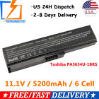 Battery PA3634U-1BRS For Toshiba Satellite A655 A665 C655 C655D C675 Notebook PC