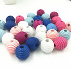 Wooden Thread Spacer Beading Beads  Jewelry Making Diy Wood Bead 20mm X19mm