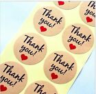 Thank You Sticker Labels Seals Craft Wedding Favours Toppers. (ST11)