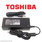 Original OEM Toshiba 120W AC Charger Adapter Cord For Qosmio X505 500 series
