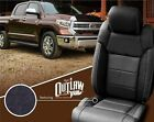 2014 2015 2016 2017 2018 TOYOTA TUNDRA KATZKIN OUTLAW BLACK LEATHER SEAT COVERS