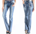 stretch armstrong toy for sale - GRACE IN LA SALE Plus Size Embellished Straight Stretch Jean 17 19 21 (39 41 43)