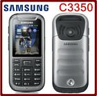 Unlocked Original Samsung Galaxy Xcover 2 C3350 Mobile phone GSM GPS 2MP 2.2""
