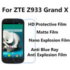 3pcs For ZTE Z933 Grand X High Clear Ultrathin,Good Touch Screen Protector