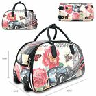 Unisex London Inspired Holdall Cabin Bag Weekend Bag Travel Hand Luggage G1688-3