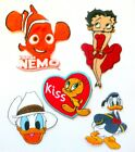 Betty Boop Nemo Donald Duck Tweety Pie Embroidered iron-on/Sew-on Patch £3.8 GBP