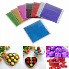 "100X Square Wrappers Foil Paper 3"" X 3"" For Candy Sweets Chocolate lolly S"