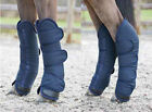 Horze Transport Boots - Set of Four  Shipping Boots - Navy PONY Size