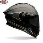 Bell RACE STAR SPEED CHECK Black/Gold Ace Cafe 3K Carbon Shell Helmet