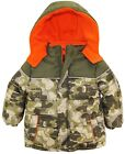 iXtreme Toddler Boys Modern Camo Army Print Puffer Winter Jacket Coat
