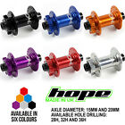 Hope Pro 4 Front Boost Hub 110mm Width - All Specs And Colors - Brand New