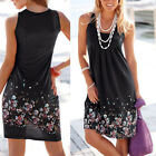 Casual Women Lady Summer Sleeveless Evening Party Cocktail Short Dress US Stock