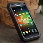New Aluminum Metal Case with Gorilla Glass for Samsung Galaxy Note 2 II N7100