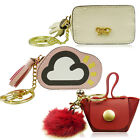 Cute Mini Small Tiny Pom Pom Tassel Cloud Coloured Coin Purse Keyring