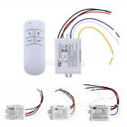 1-3 Ways ON/OFF 220V-240V Wireless Receiver Lamp Light Remote Control Switch US