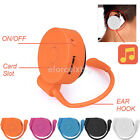 Colorful Earhook USB Digital MP3 Music Player Support 32GB Micro SD TF Card New