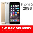 AS NEW iPHONE 6 128GB 4G GSM SPACE GREY GOLD SILVER EXPRESS UNLOCKED MR