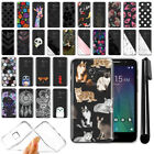 For Alcatel TRU 5065 Stellar Ultra Thin Clear TPU Case Phone Cover + Pen