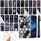 For Motorola Droid Turbo 2 Kinzie XT1585 Clear TPU Soft Case Phone Cover + Pen