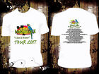 "White T Shirt Jimmy Buffett 2017 ""I Don't Know"" Tour White R600"