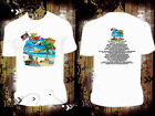"White T Shirt Jimmy Buffett 2017 ""I Don't Know"" Tour R603 Margaritaville"