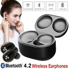 Mini Twins Wireless Bluetooth 4.1 Stereo Headset Earbuds Rechargeable Earphones