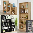 Wooden Bookcase Shelving Display Shelves Storage Unit Magazine Rack Home office