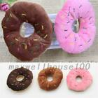 Pet Play Toys Puppy Dog Doggy Chew Squeaky Chewing Doughnut Donut Sound Plush MA