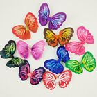 10-100 pcs Pet Dog Cat Beautiful Colorfully Butterfly Hair Bows Hair Accessories