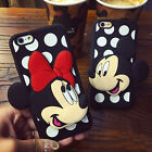 Cute Disney Minnie Mickey Mouse Rugged Shockproof Case Cover for iPhone/Samsung