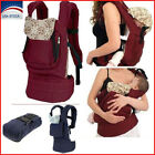 Infant Newborn Baby Carrier Baby Sling Blue/Red Cotton