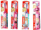 Colgate Barbie Electric Battery Powered Kids Children Toothbrush Soft Brush New