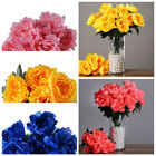 16 Silk Peony BUSHES Wedding Party Artificial FLOWERS Centerpieces WHOLESALE